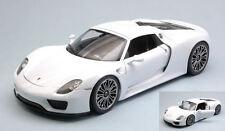 Porsche 918 Spyder Hard Top White 1:18 Model 18051HW WELLY