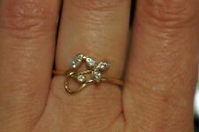 14 K Rose Gold 583 Russian Ring Size 8.5! Rare!