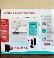 NEW SINGER 7258 Stylist Computerized 100-Stitch Sewing Machine FREE SHIPPING
