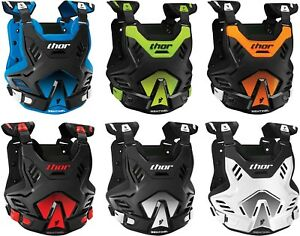 Thor Sentinel GP Chest Protector - Motocross MX ATV Offroad Dirtbike Roost Guard