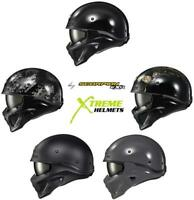 Scorpion Covert X Helmet Convertible 3-in-1Half Open Full Face DOT S-3XL