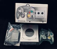 New Open Box Platinum Nintendo GameCube Complete W/ Controller, Cords, & Manual