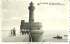 028 031 - CPA - Belgique - Zeebrugge - Le Phare du Môle