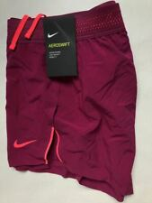 NIKE AEROSWIFT SHORTS M NEW WITH TAGS RUNNING 4'' WOMENS FLYVENT WORKOUT SHORTS