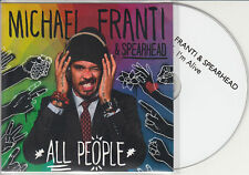 MICHAEL FRANTI & SPEARHEAD I'm Alive 2014 UK 1-trk promo test CD