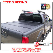 BAKFlip G2 Folding Tonneau Cover for 05-16 Nissan Frontier 6' Bed Cover 26507