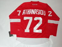 ANDREAS ATHANASIOU SIGNED DETROIT RED WINGS #72 HOME JERSEY LICENSED JSA COA