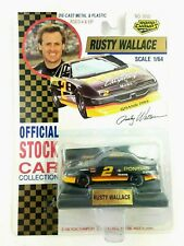 Official NASCAR Stock Car Collection Rusty Wallace #2 Pontiac Diecast Stand 1992