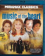 Music of the Heart - RARE 1st Blu-ray Disc DVD - 2013 - Meryl Streep Aidan Quinn