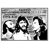 The Bee Gees in Songs/The Kings of Disco/ Keepsake/Gift/Collectable FreePost Uk