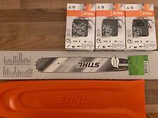 Stihl 045AV 45cm SWS Forst Schwert Set mit 2 VM Sägeketten 3//8 66TG 1,6mm p.f