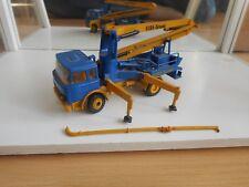 Conrad Magirus Deutz Beton Pump Elba-Scheele in Blue/Yellow on 1:50