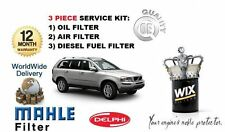 FOR VOLVO XC90 2.4D D5 185bhp  8/2005-  SERVICE SET OIL AIR FUEL ( 3 )FILTER KIT