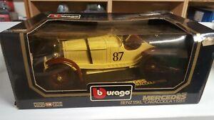 Mercedes-Benz SSKL Caracciola 1931 Burago N° 3002 - 1/18