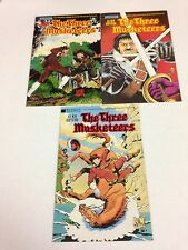The Three Musketeers #1 #2 #3 Disney adaptation #1 #2 2 complete sets