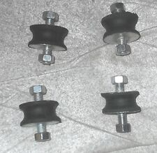 Morgan 4/4 +8 +4 exhaust mountings  rubber bobbins x4 3-wheeler rectifier mounts
