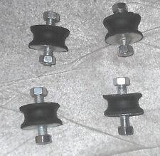 Morgan 4/4 +8 +4 exhaust mountings  rubber bobbins x4 3-wheeler rectifier mounts