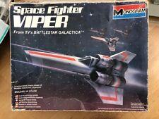Colonial Viper Battlestar Galactica Monogram 1978 Model 6027