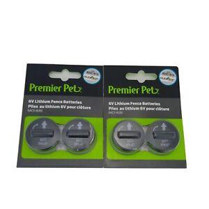 (2) Premier Pet Guardian PetSafe 6V Batteries GAC11-16351