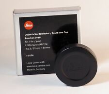 Leica 14474 Lens Cap For Summarit - M 35MM 50MM F2.5 Brand New In Box.