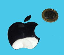 Apple metalissed Chrome effect sticker logotipo pegatinas 40x50mm [005]