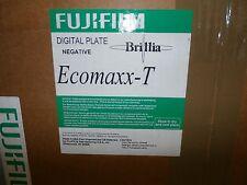 FUJIFILM Digital Plate Negative Eccomaxx-T Brillia 459x525x0.15 Brand New