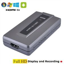 ^ RM Video Capture Recorder HDMI IN PC Win Android Mac Linux Erwerb Full-Hd