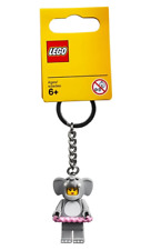 Lego Elephant Girl Key Chain Minifigure Key Ring, Bag or Backpack Charm 853905