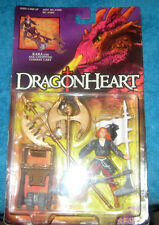 DRAGONHEART KARA WITH AXE-CHOPPING COMBAT CART FIGURE 1995 KENNER MOSC