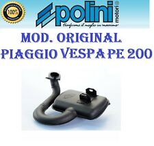 Marmitta Polini Piaggio Vespa PX PE 200 2T Scarico Espansione Mod Original