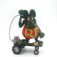 Rat Fink Ed Roth Big Daddy Burger Key Chain Color Charm Charapin Action Figure