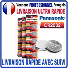 Pile CR2032 Lithium 3V PANASONIC Pile bouton  QUALITÉ PREMIUM