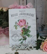 """""""Belle Jardiniere"""" Shabby Chic ~ Country ~ Cottage style ~ Wall Decor Sign"""