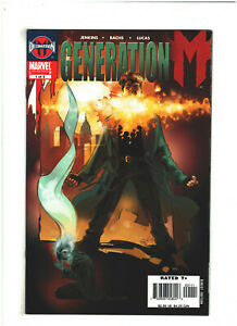 Generation M #1 NM- 9.2 Marvel Comics Decimation M, Chamber X-Men