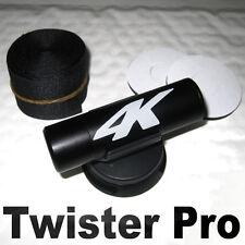 Twister camera mount for bullet, onboard incar motorcycle helmet cam adjustable