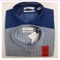 Calvin Klein Men's 2Pack Shirt Set Stretch Fabric