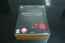 New Capcom PS3 Biohazard Anniversary Package From Japan rare game F/S