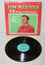 "12"" LP - Jim Reeves - 12 Songs of Christmas - RCA Camden CDS 1160 - 1971"