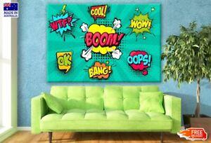Pop Art Design Canvas Collection Home Decor Wall Print Art