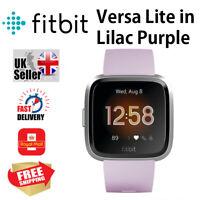Brand New Fitbit Versa Lite Edition Smart Fitness Tracker Watch in Lilac Purple