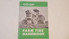 Vintage 1960s CO-OP Farm Tire Handbook Advertising, Massey Ferguson, John Deere