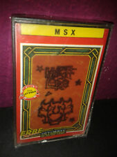 Msx knight lore ultimate play game Erbe spain legend series new seal new