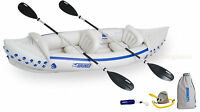 Sea Eagle 330 Deluxe Inflatable 2 Seat Kayak Canoe - Brand New! 3-Year Warranty!