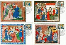 Vatican City Sc# 1004-7: Marco Polo's Return from China, 4 Maxi Cards