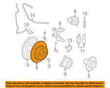 BMW OEM 07-17 X5 Rear Brake-Rotor 34216793246