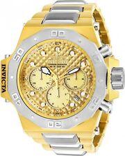 Invicta Men's Akula Quartz Chronograph Gold Dial Watch 23102