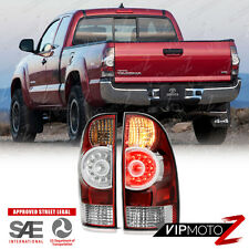 [FACTORY LED STYLE] 2005-2015 Toyota Tacoma All Model Rear LED Tail Lights Lamps