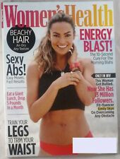 WOMEN'S HEALTH MAG JULY/AUGUST 2017 EMILY SKYE INSTAGRAM STAR NO GYM WORKOUT