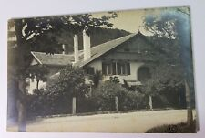 Fleurier Switzerland 1925 Architectural Home POSTED TO PARIS RPPC Real Photo