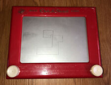 Vintage Original Etch A Sketch By Ohio Art Model #505 The World Of Toys Red